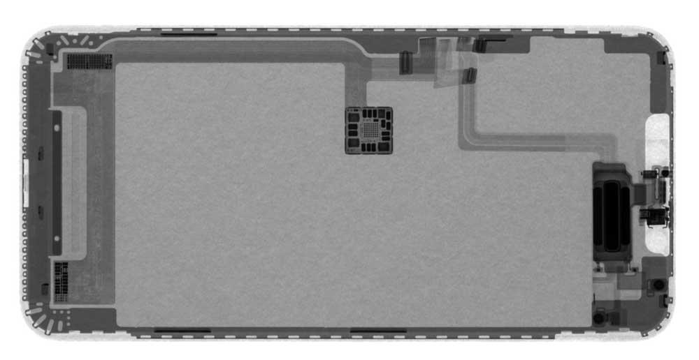 iPhone 11 Pro Max螢幕X光照