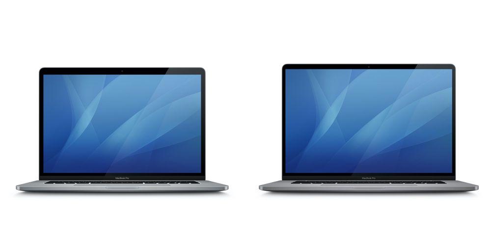 15 吋 MacBook Pro 圖示與16 吋 MacBook Pro 圖示