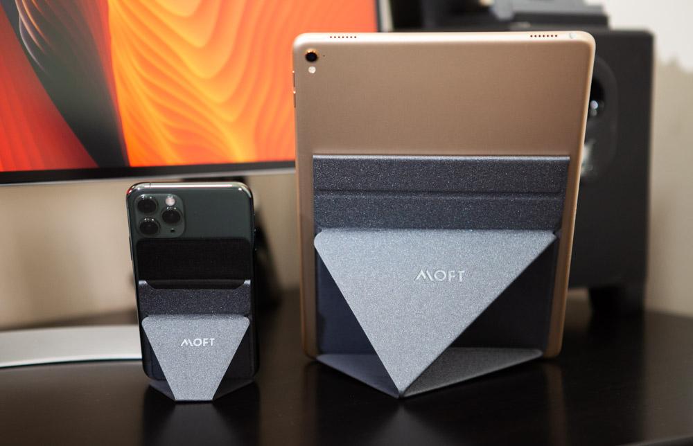 MOFT X手機、平版隱形支架開箱:輕薄怎麼擺都可以立在桌面上