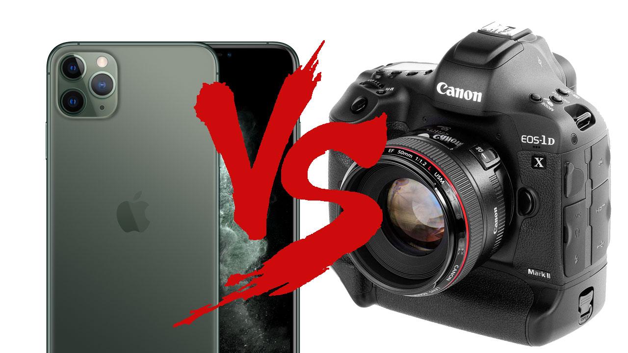 手機與單眼PK戰: iPhone 11 Pro 和 17萬機皇單眼相機誰會贏?