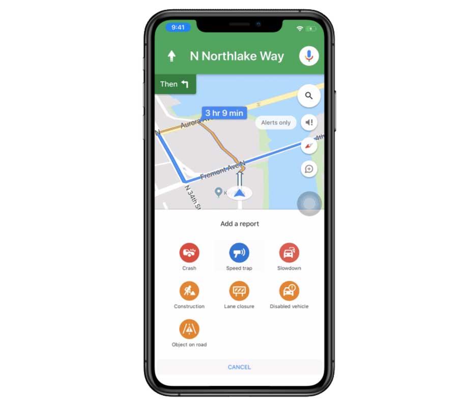 Google Map測速照相和路況回報功能即將登場
