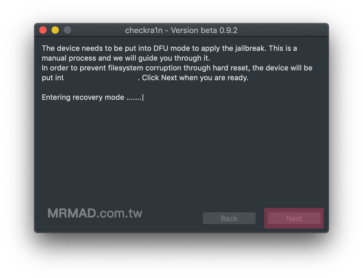 Ra1nUSB教學:讓 Windows 電腦也能使用 checkra1n 越獄