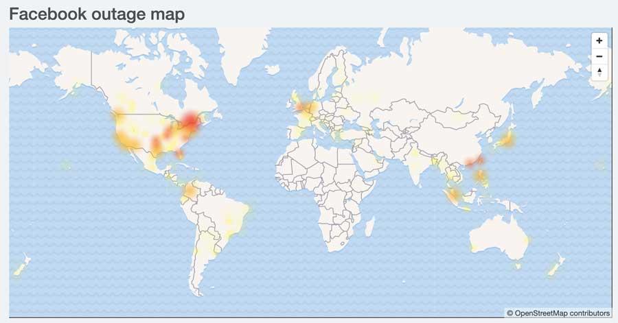 Facebook和IG爆發當機災情!動態消息、訊息和登入不進去