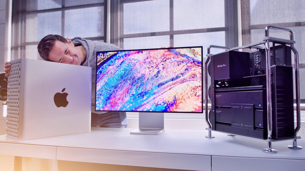 Mac Pro 2019和Pro Display XDR開箱影片評測:專業人士必買!