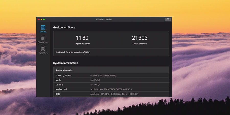 Mac Pro 2019跑分與效能表現