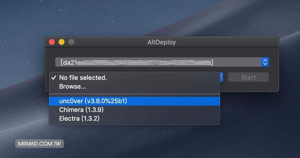 AltDeploy 真正Cydia Impactor替代品,透過電腦安裝未簽名APP技巧