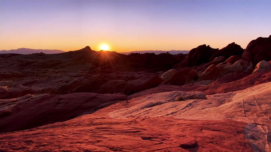 蘋果用 iPhone 11 Pro 超廣角鏡頭在火焰谷州立公園拍驚人大片