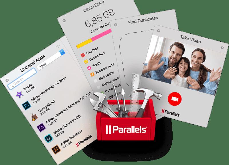 Parallels超殺2020大禮包限時開賣,買1送10現省1000美元