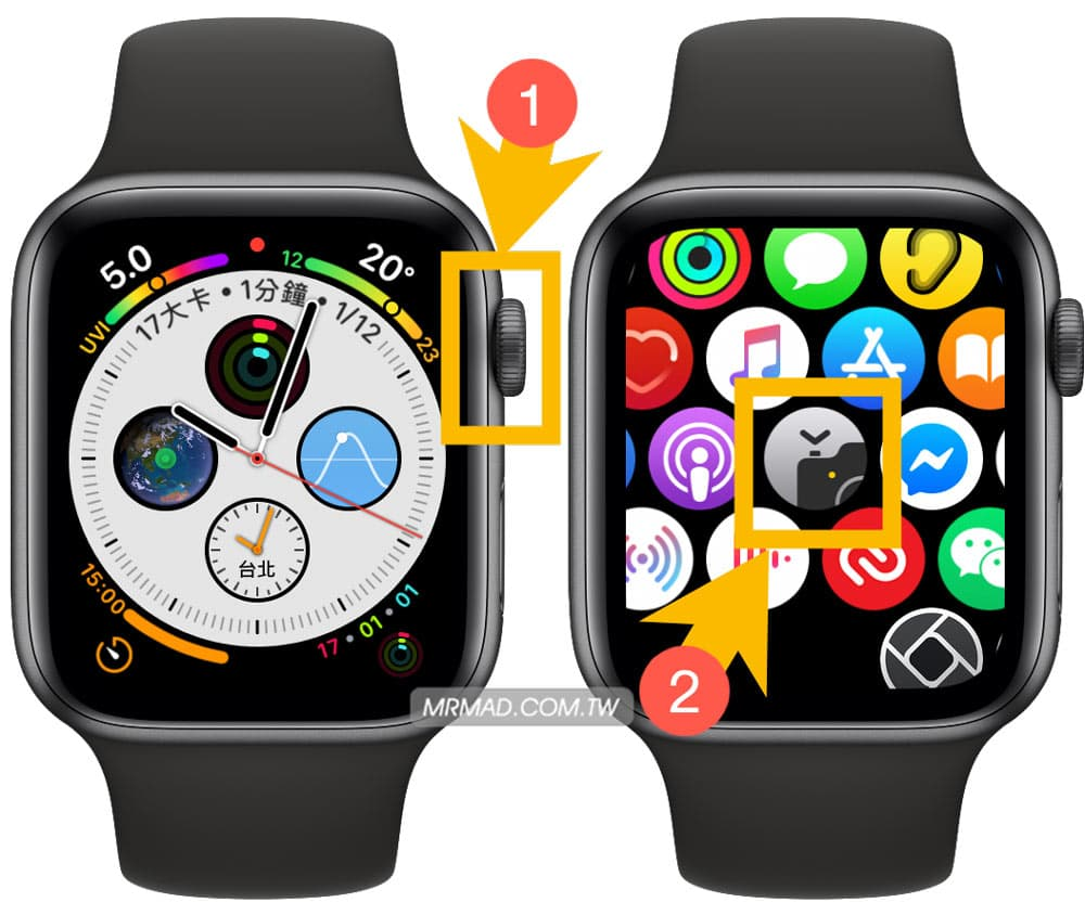 如何用 Apple Watch 來控制 iPhone 拍照3
