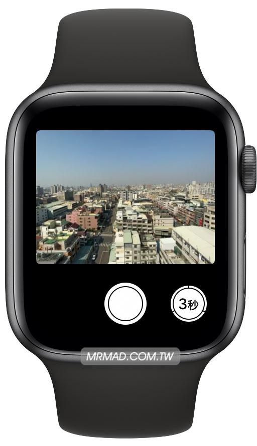如何用 Apple Watch 來控制 iPhone 拍照4