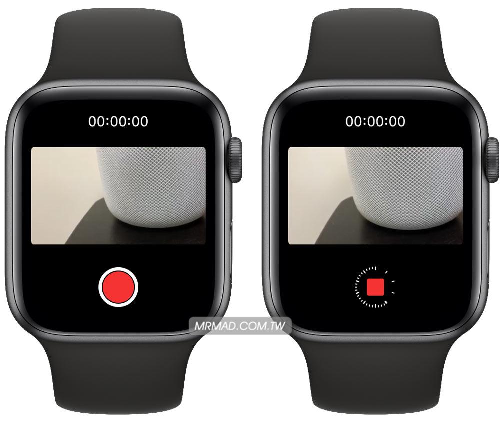 Apple Watch 來控制 iPhone 影片錄影