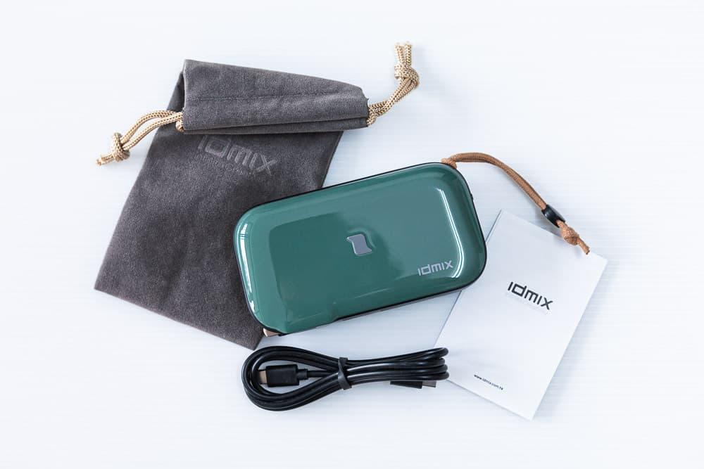 無線行動電源推薦:IDMIX MR CHARGER CH06開箱!無線充電、AC牆充、三機充電