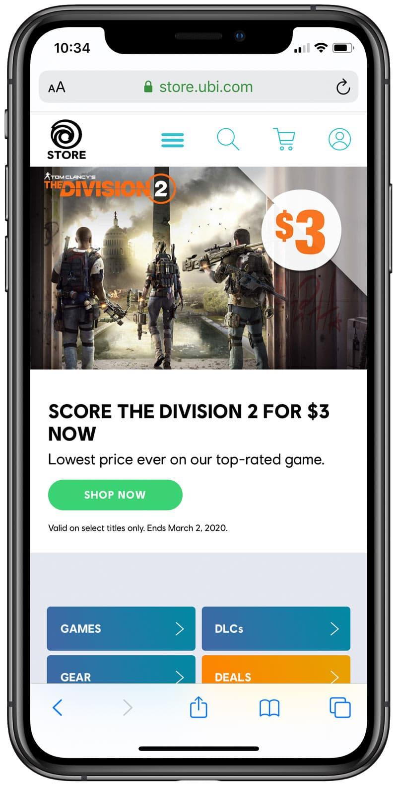 《全境封鎖2》特價80元!快用這方法手刀購買遊戲大作
