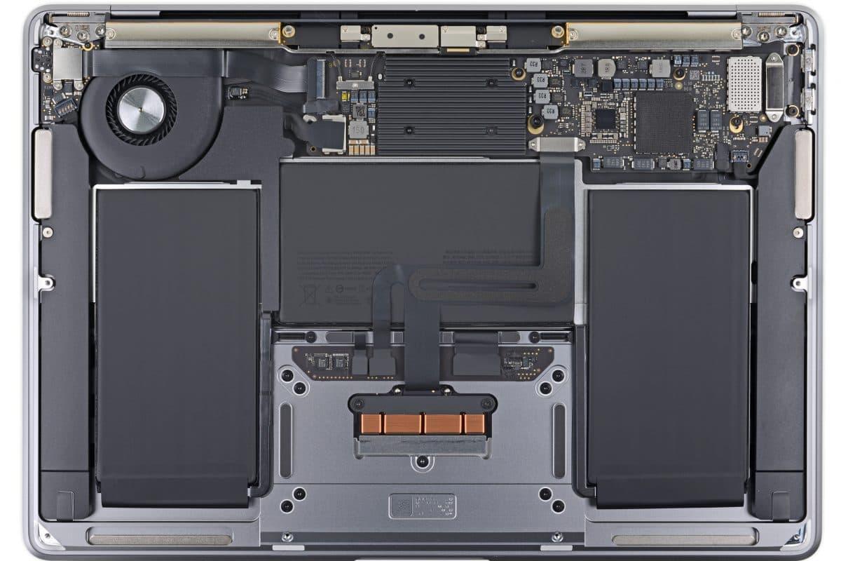 iFixit 拆解 MacBook Air 2020:維修更容易、SSD和RAM依舊悍死