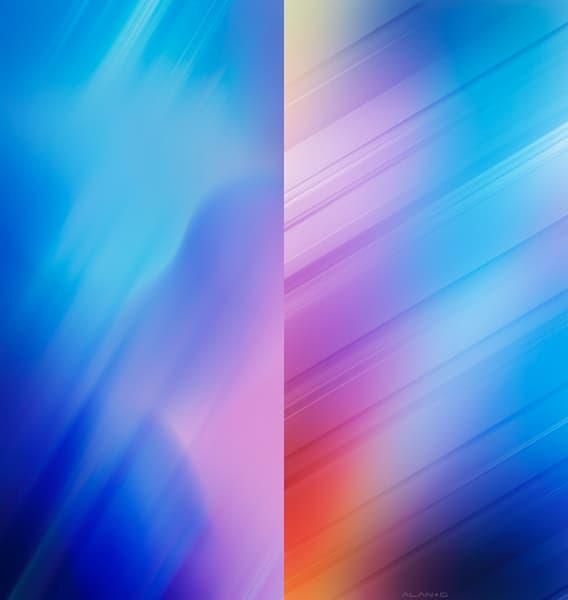 精選12張七彩高清抽象桌布下載|iPhone桌布