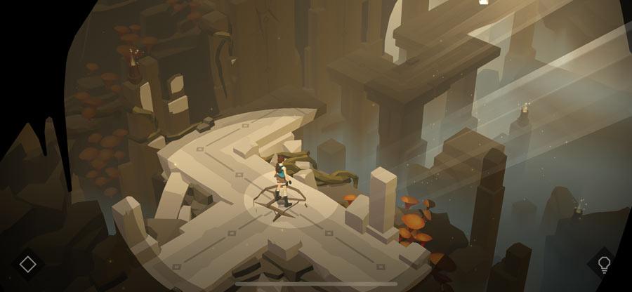 蘋果年度最佳遊戲《Lara Croft GO》限免下載2
