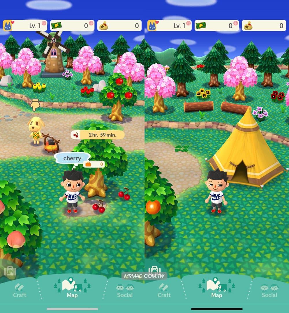 《動物森友會》手遊版基本教學4