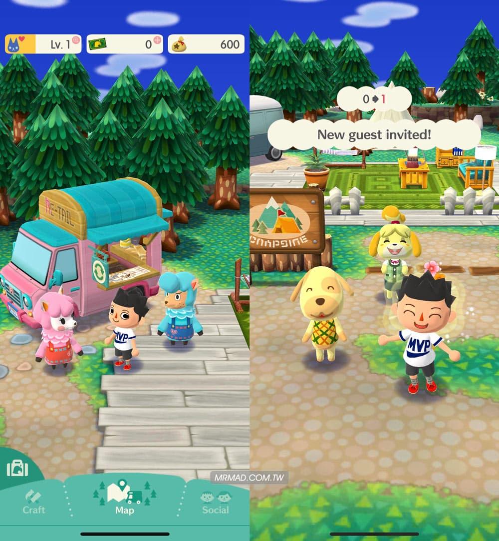 《動物森友會》手遊版基本教學7