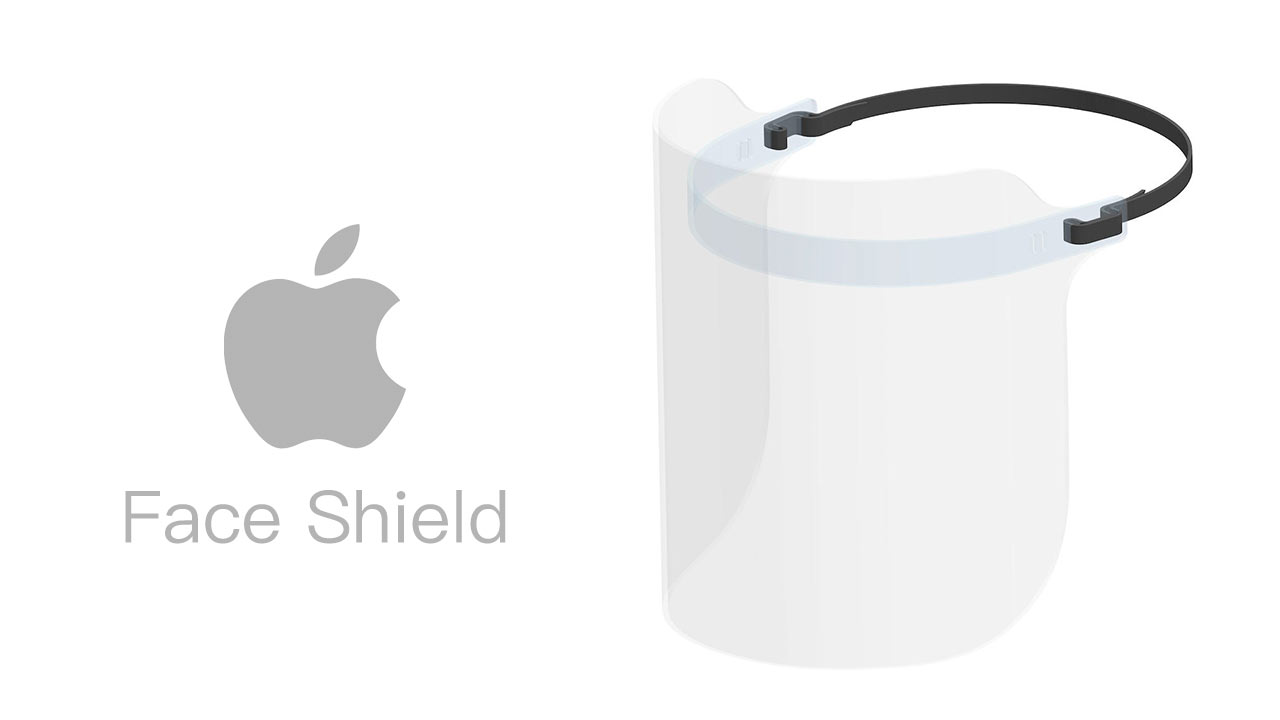 Apple對抗病毒研發新品「防護面罩 Face Shield」還教你怎麼穿戴