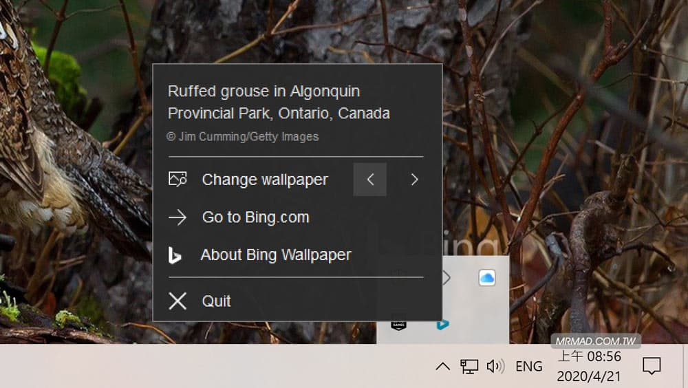 Bing桌面每日自動更換工具3