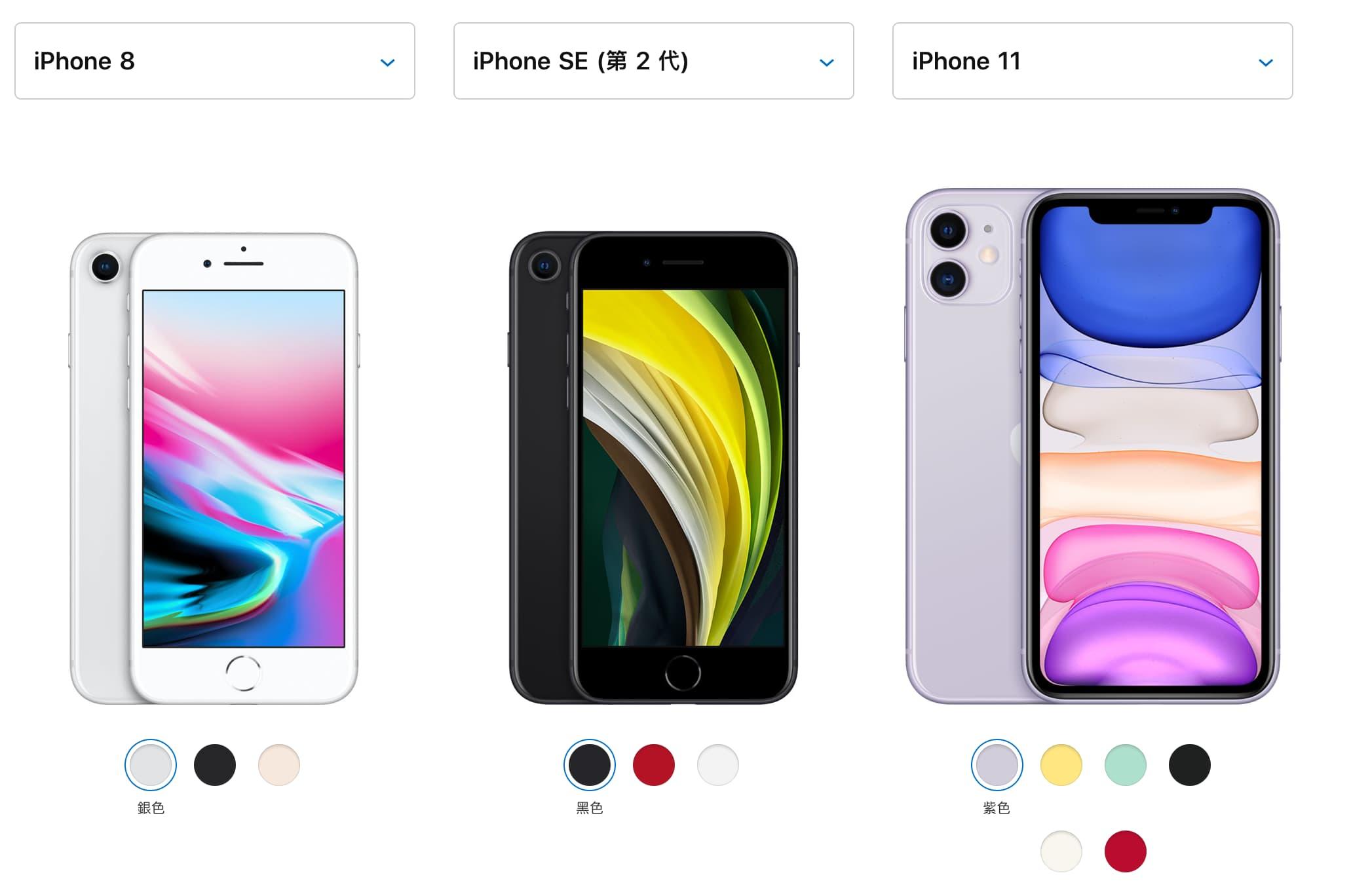 新iPhone SE和iPhone 8、iPhone 11差異整理,買哪款比較適合