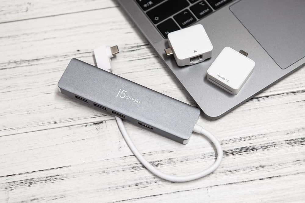 j5create 凱捷極限高速 USB3.1 Gen2 USB-C 模組化9合1 Hub開箱
