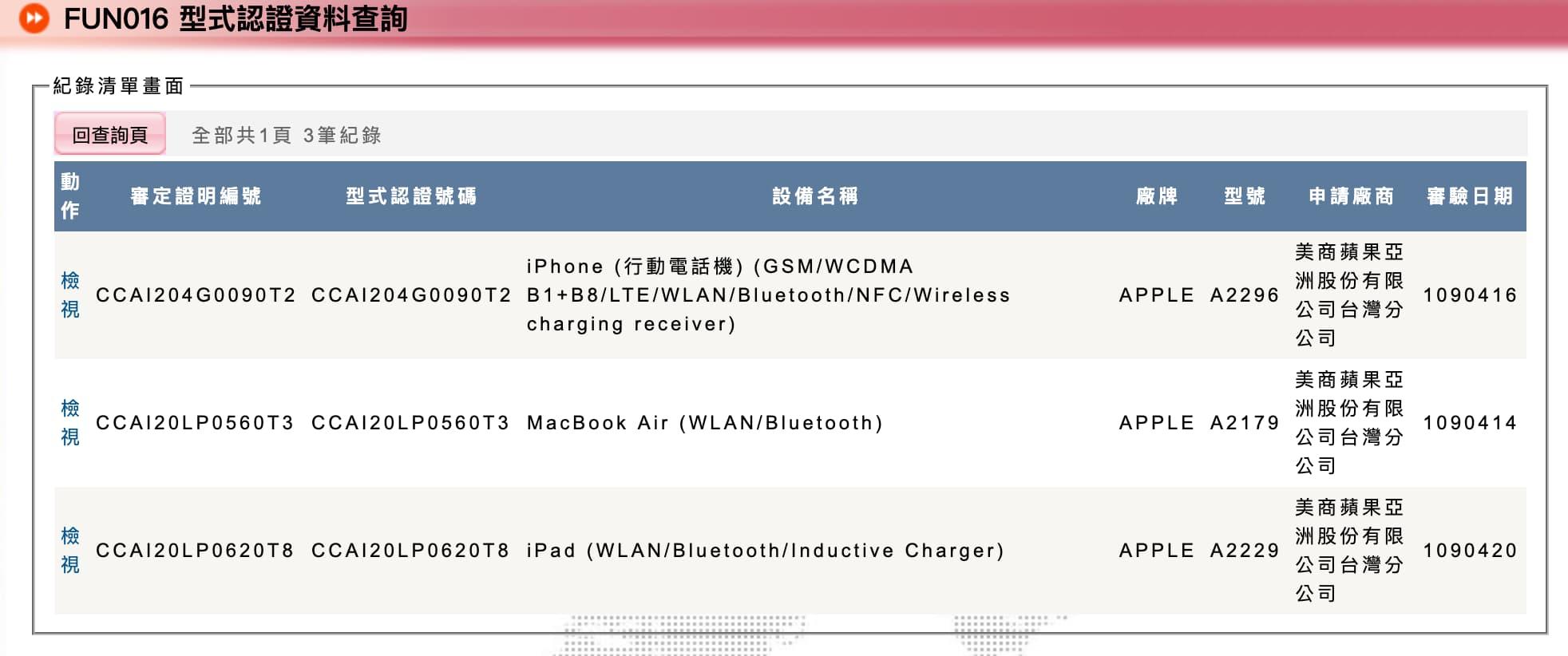蘋果 iPad Pro 2020 通過NCC 認證,台灣即將開賣!