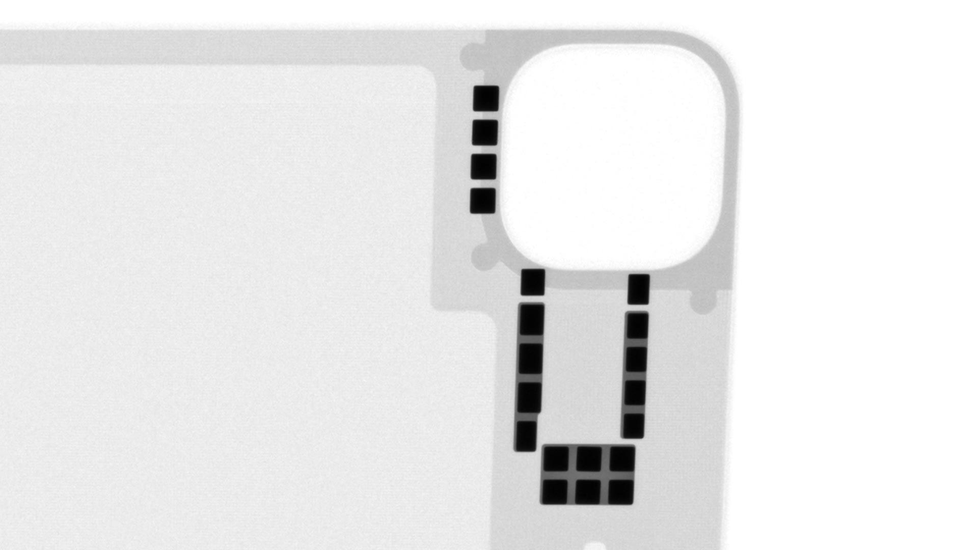 iPad Pro巧控鍵盤X光照片磁鐵