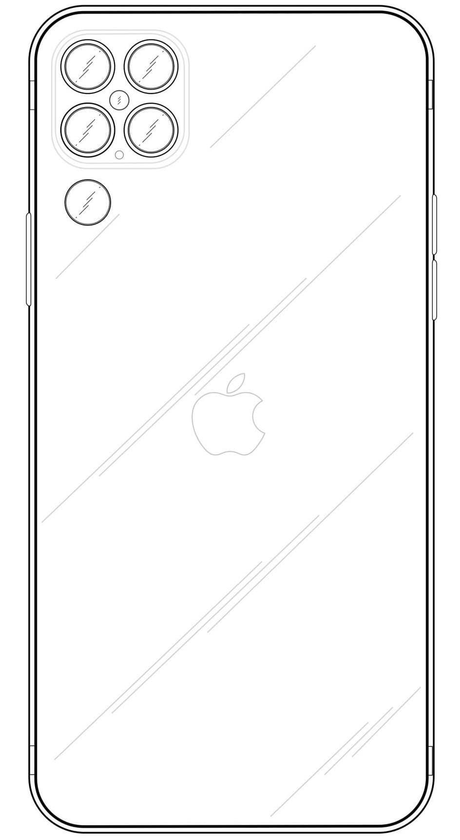 iPhone 13 相機設計規格超前曝光?四筒+1鏡頭設計有點怪