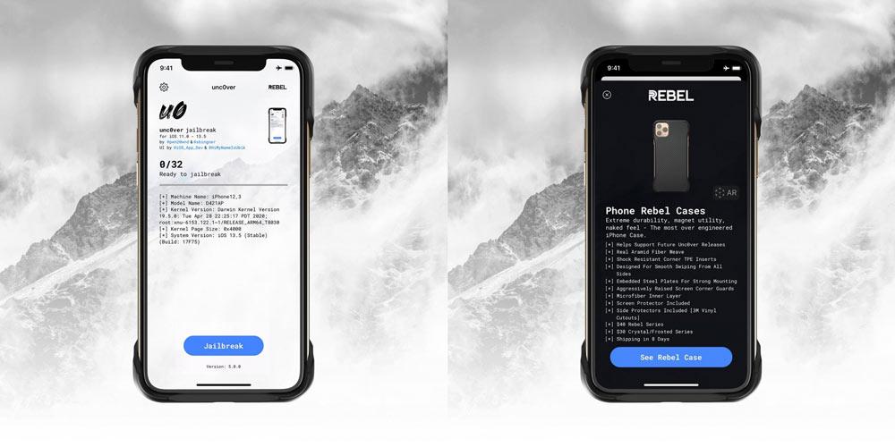 unc0ver越獄工具準備支援 iOS 13.5 ,所有設備都能支援越獄