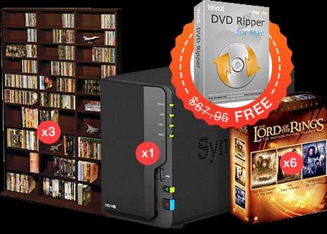 DVD備份、轉檔神器WinX DVD Ripper 限免下載(Mac、Win)1