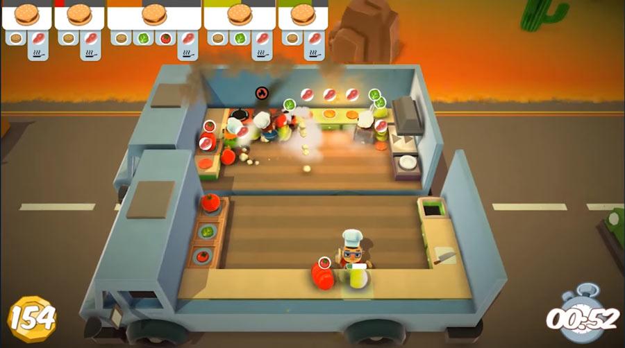 《煮過頭 Overcooked》限時免費取得,考驗友情關係遊戲
