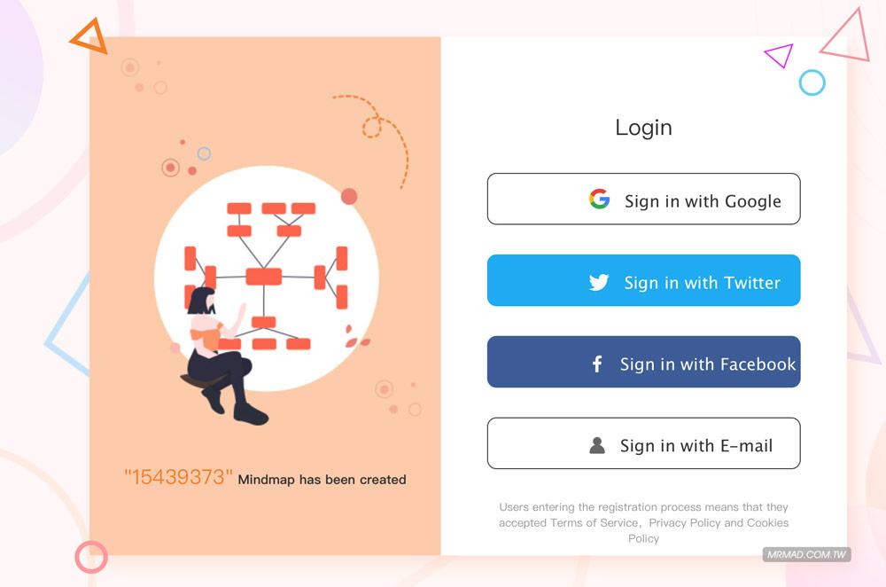 GitMind 心智圖免費線上設計工具教學2