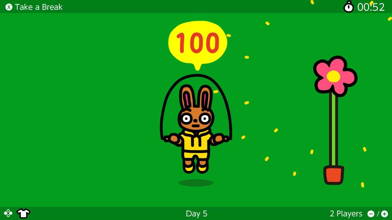 Switch《跳繩挑戰》限時免費下載,每日任務跳100次想瘦身必下4