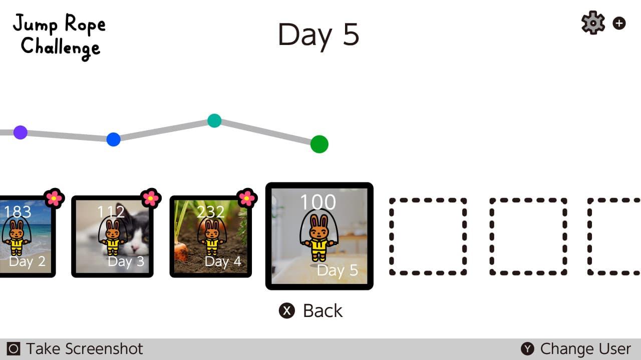 Switch《跳繩挑戰》限時免費下載,每日任務跳100次想瘦身必下5