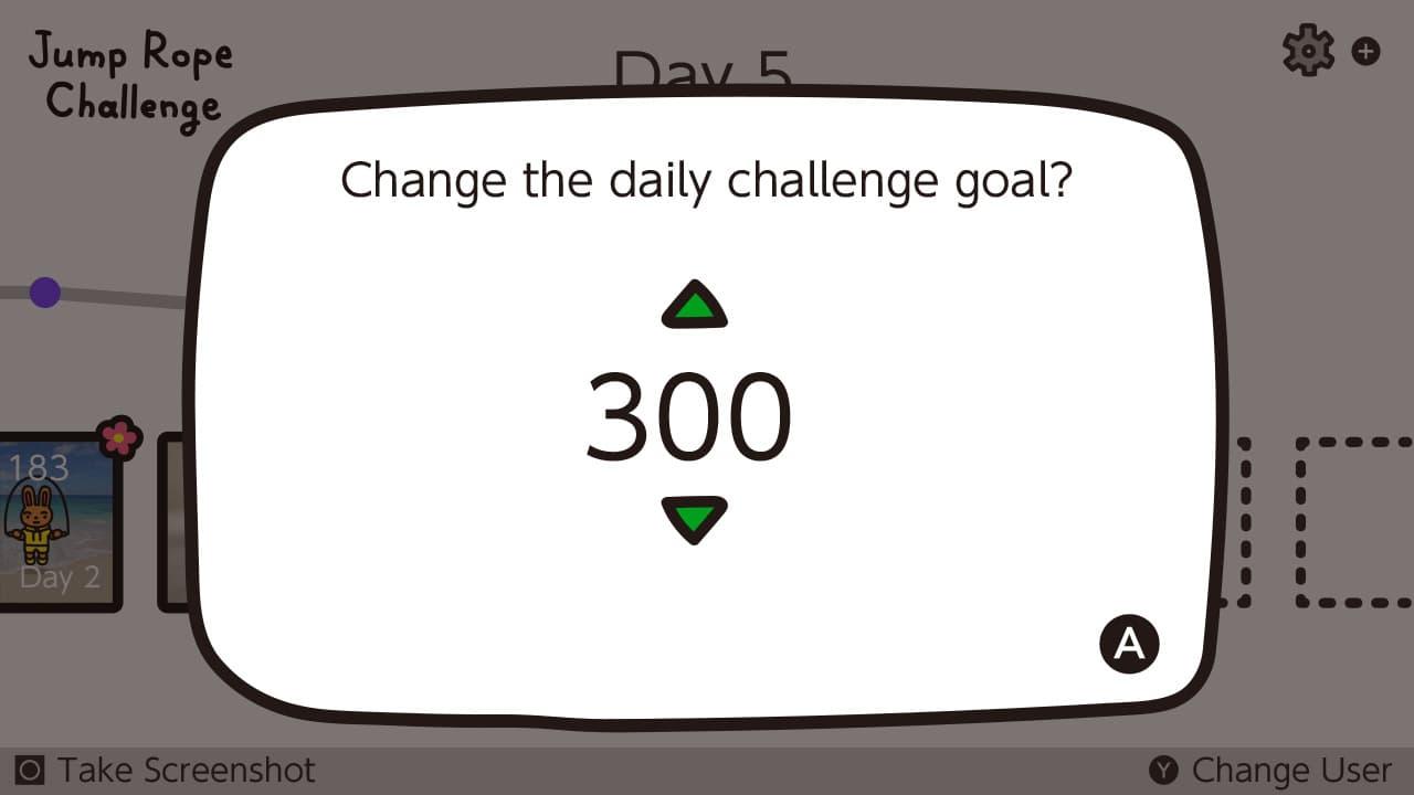 Switch《跳繩挑戰》限時免費下載,每日任務跳100次想瘦身必下2