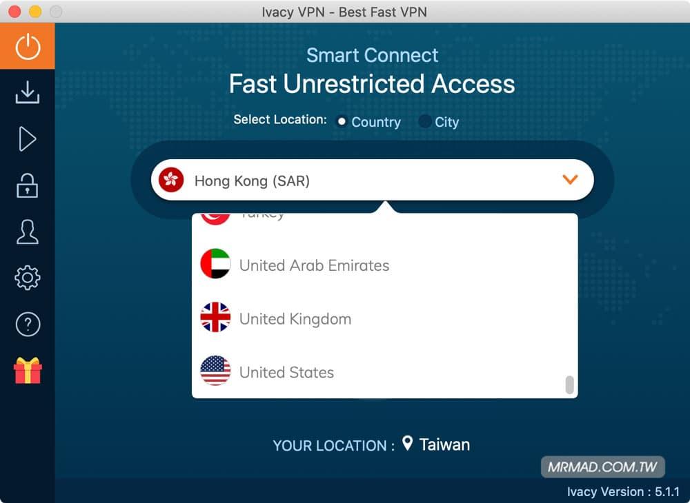 利用 lvacy VPN 輕鬆跨 Netflix 各國看千部影片