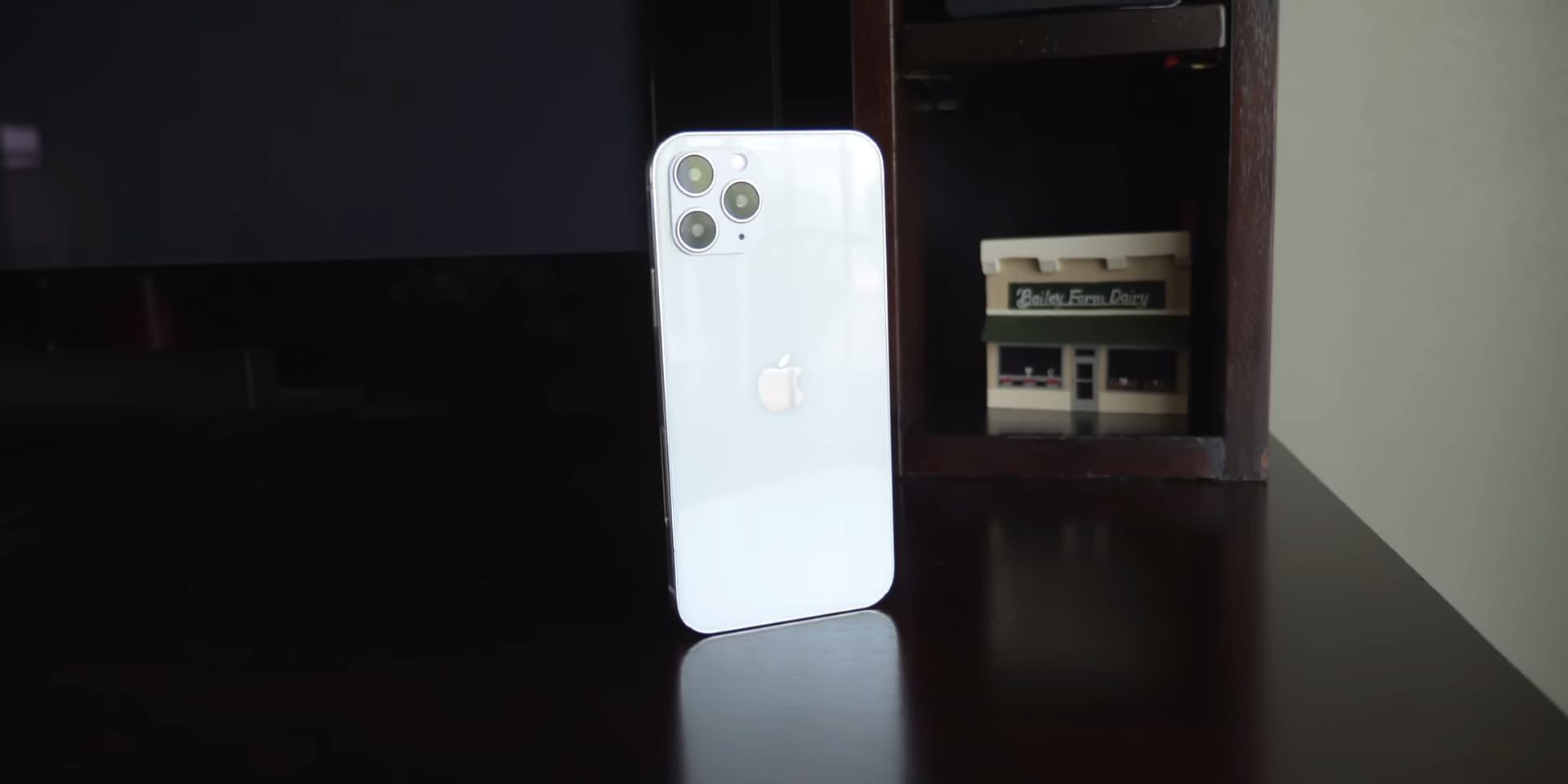 蘋果 iPhone 12 實機模型再度曝光,三款尺寸外觀近距離搶先看5