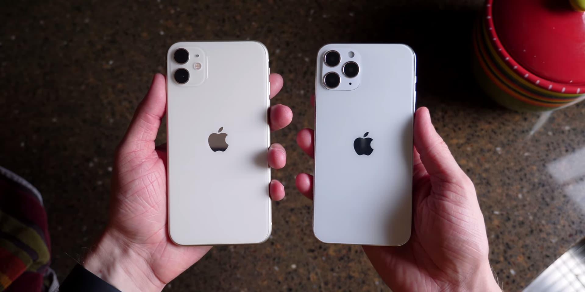 蘋果 iPhone 12 實機模型再度曝光,三款尺寸外觀近距離搶先看1