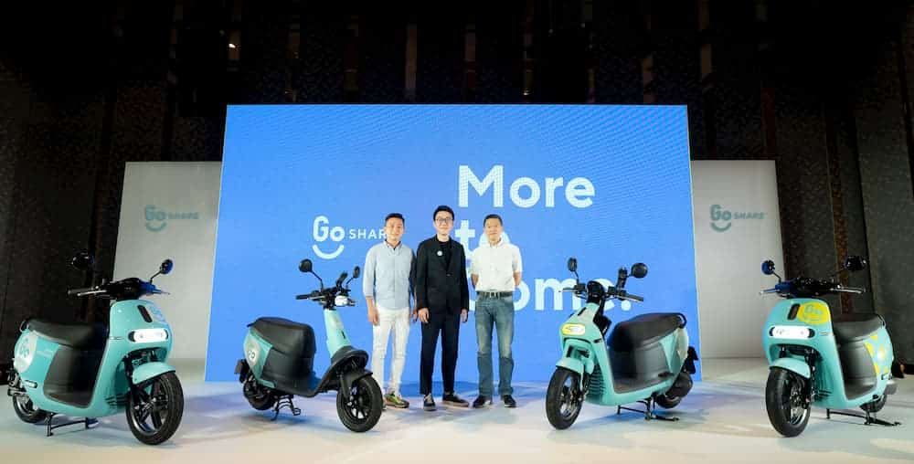GoShare 新增TAP & GO 服務,iPhone 靠近立即預約、付款
