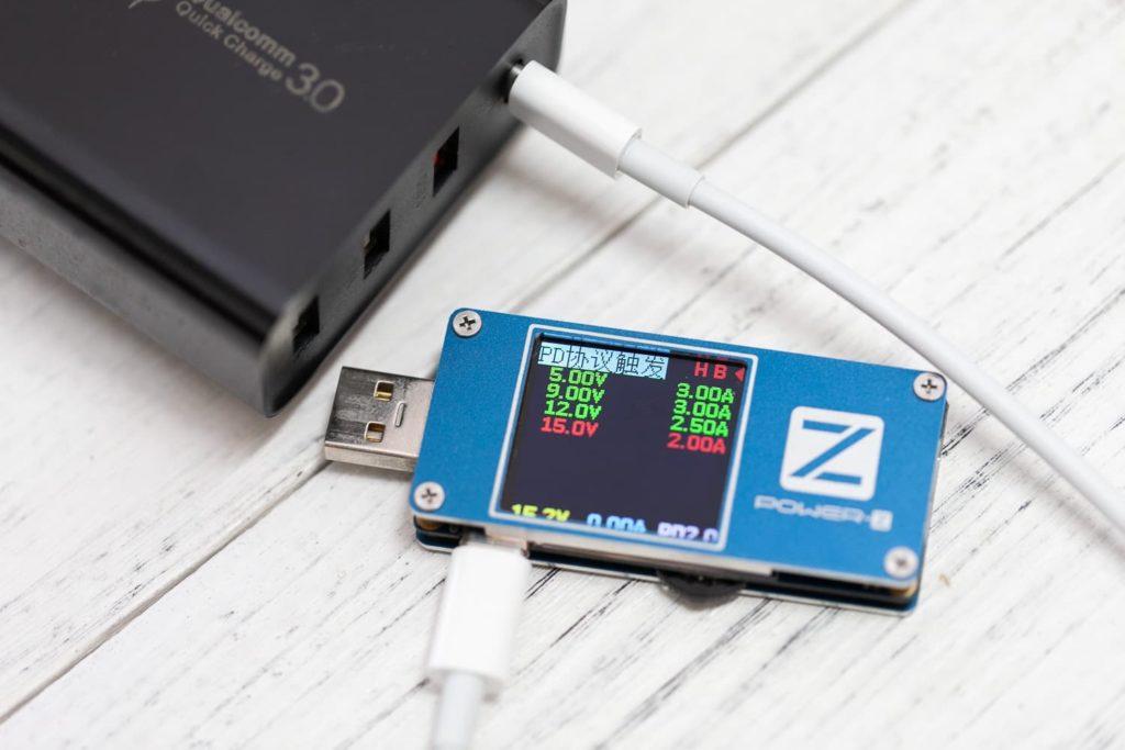 充電儀測試充電效率1