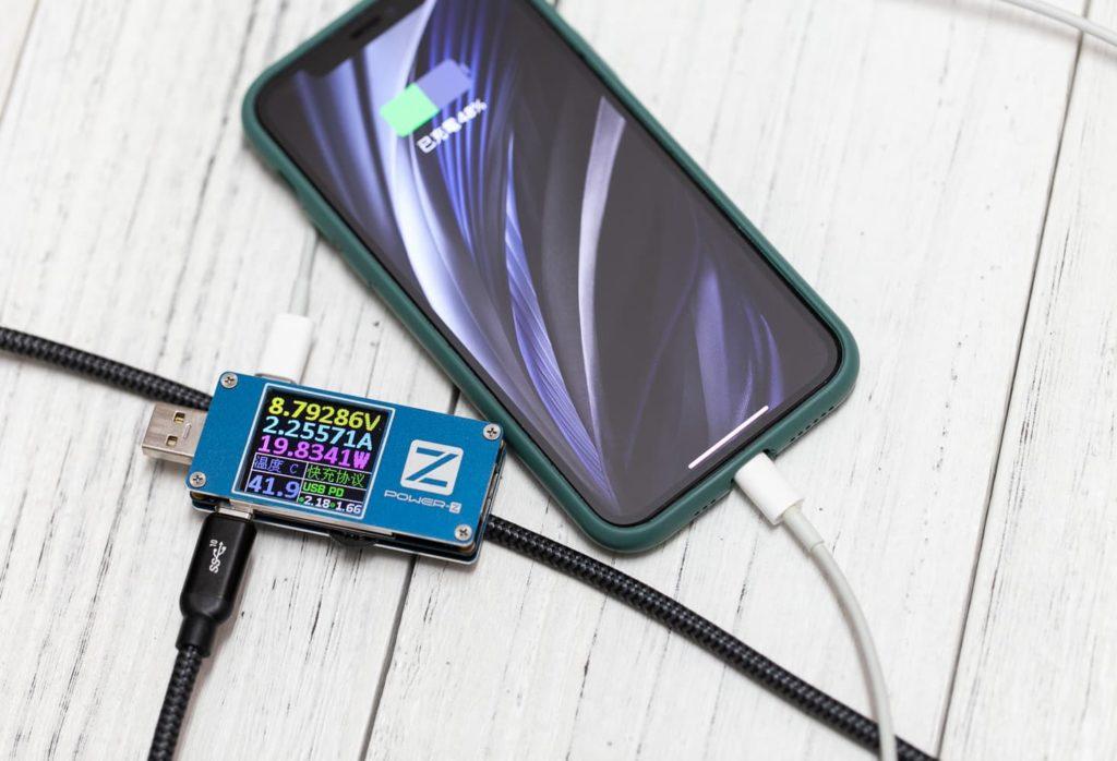 充電儀測試充電效率3