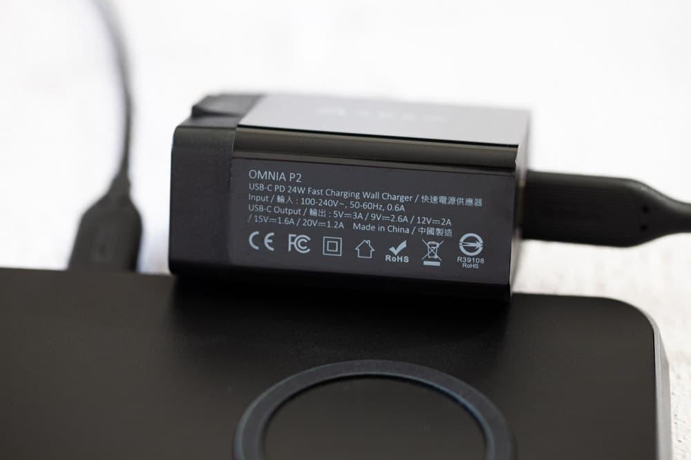 OMNIA Q3 真無線3+1快充充電座開箱6