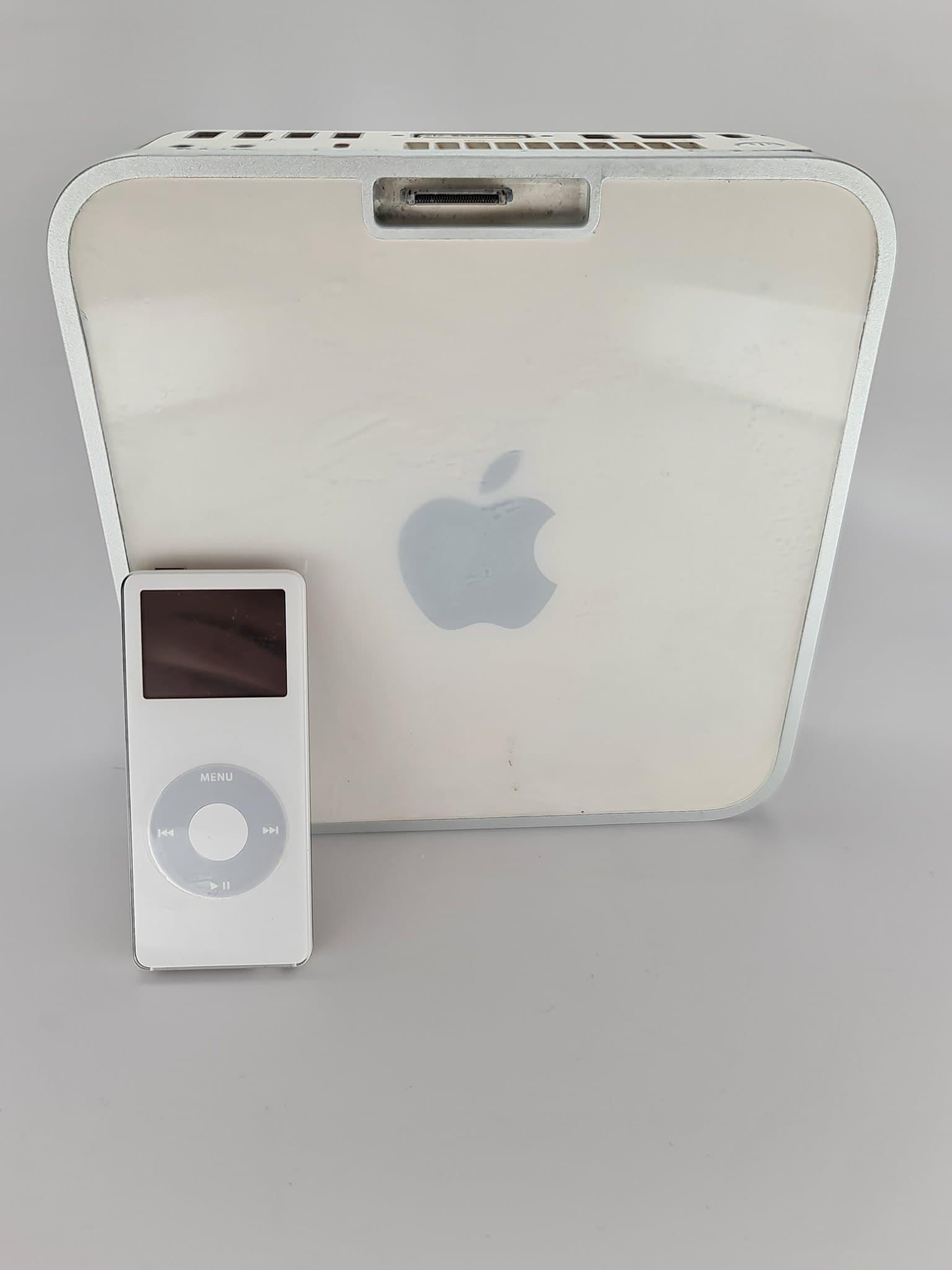 蘋果Mac Mini 原型機現身網路,最初竟是iPod nano 音箱