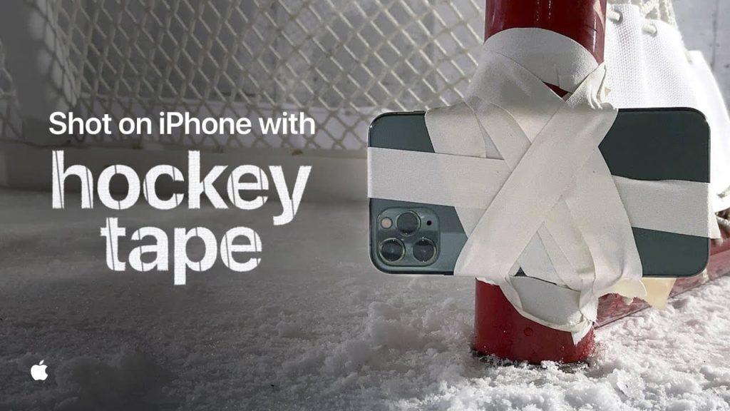 蘋果教你用iPhone和膠帶 拍出NHL冰球創意鏡頭畫面