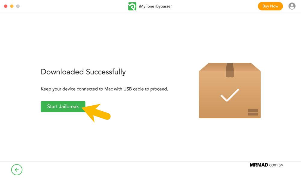 iMyFone iBypasser 繞過 iCloud 鎖定教學2