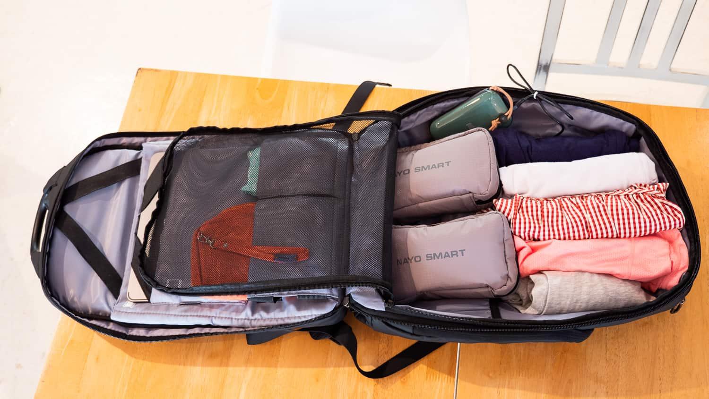 多功能科技背包NAYO SMART 開箱,生活、出差、旅行都適合
