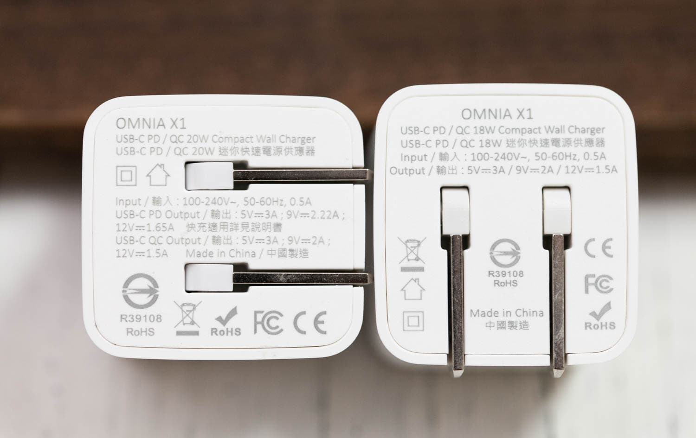 iPhone最小的PD快充頭,超高CP值亞果OMNIA X1與X開箱比較