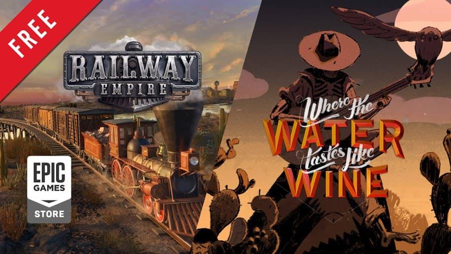Epic限免送鐵道經營《鐵道帝國》、經典好評《水味如酒》