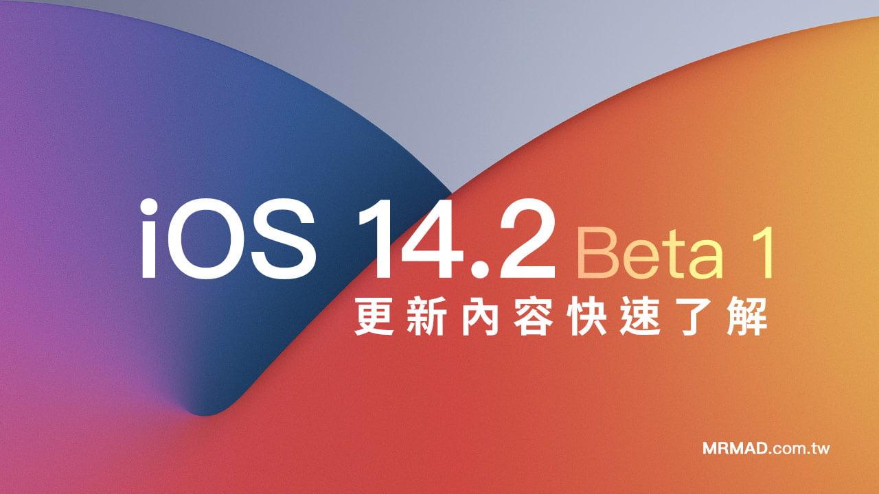 iOS 14.2 beta1 有什麼新功能?告訴你新版改進
